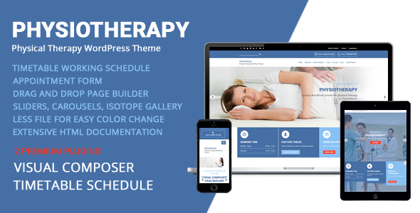 Physiotherapy Physical Therapy WordPress Theme